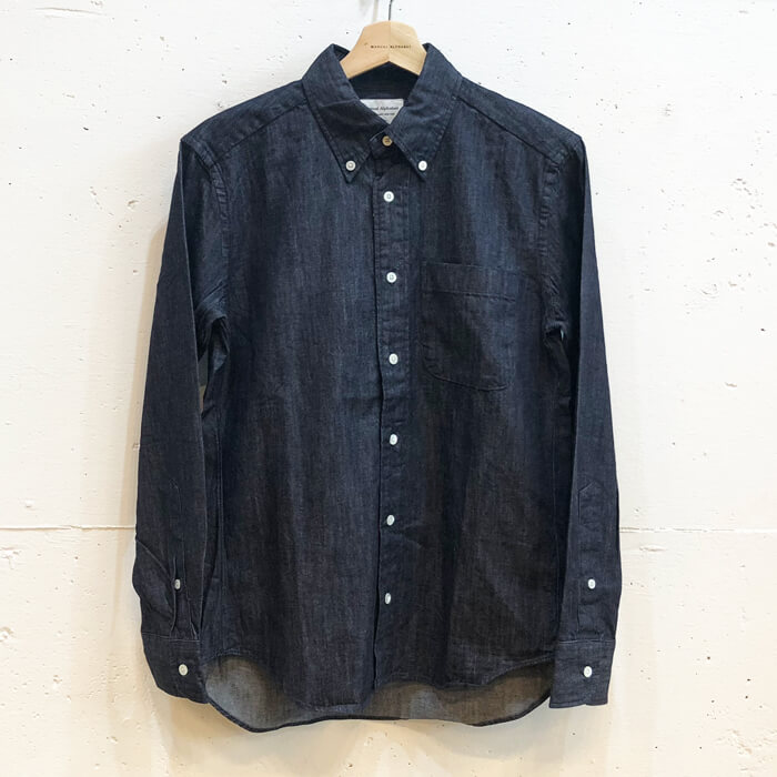 BASIC-MK-022 6oz DENIM BD SHIRTS